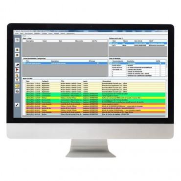 Vigicom® MCI-V3: Main courante informatique monoposte