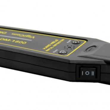 Vigicom® DM-1800: Raquette de détection de métaux professionnelle