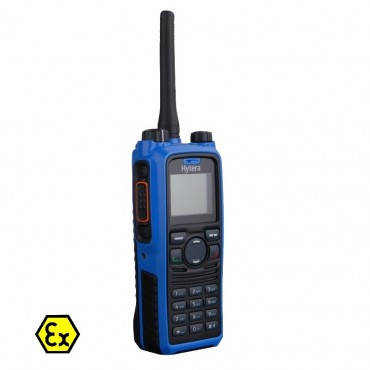 HYTERA PD-795 : Radio numérique ATEX avec fonction PTI