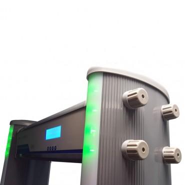 Vigicom® PS-840IP: Détecteur de Métaux Multi-zones Évolué