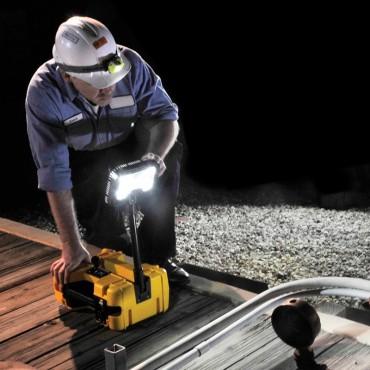Vigicom® LT-9480R : Éclairage de chantier autonome