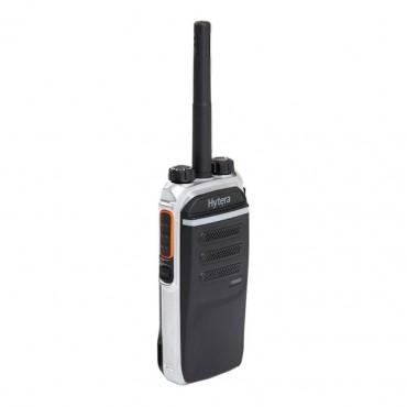 Vigicom® PMR-PTI/MESS: Portatif PD605GU HYTERA 1-4 watts - Avec GPS et PTI - DMR Tier II