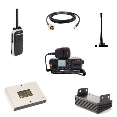 Vigicom® PMR-PTI/MESS: Pack radio avec fonction PTI et transmetteur de message d'alerte