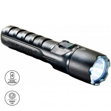 Vigicom® LT-7070R : Lampe torche tactique à LED ultra robuste pour agent de sécurité