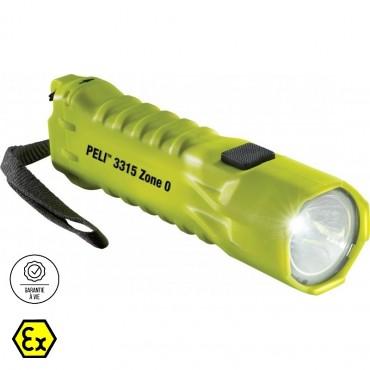Vigicom® LT-3315Z0 : Lampe torche pour Zone ATEX 0 garantie à vie