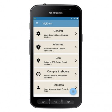 Vigicom Smart-DATI®: Application de Protection du Travailleur Isolé pour Smartphones Samsung, Huawei, Sony Xperia, LG