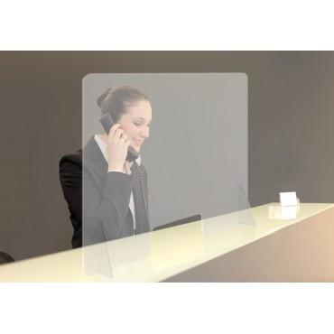 Paroi de protection transparente en plexiglass Vigicom
