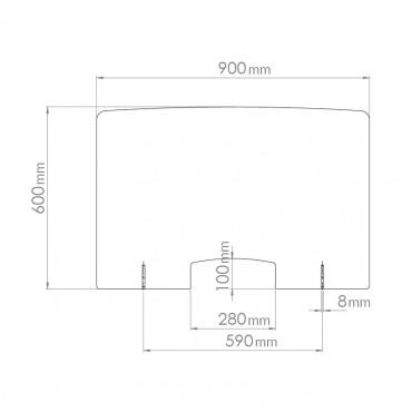 Hygiaphone Vigicom Dimension 90x60cm