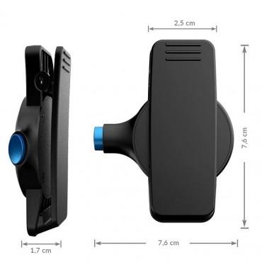 Vigicom® HC-UNIV : Clip ceinture universelle pour DATI GSM