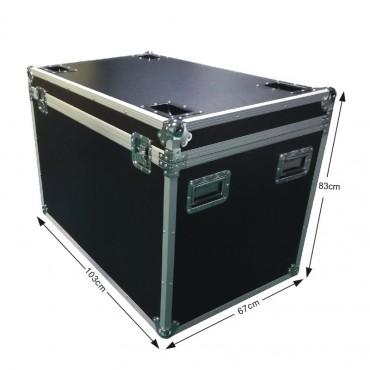 Vigicom® BOX-980 : Malle de stockage et de transport pour portique de sécurité