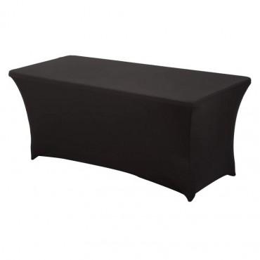 Vigicom® PS-TABLE: Tableau pliante avec housse noire extensible