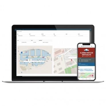 Vigicom® MyPTI: Gérez les alertes PTI en temps réel directement depuis votre ordinateur ou sur iPhones et smartphones Android