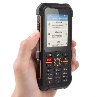 Vigicom® ATI-3520FX : GSM industriel pour la protection des travailleurs isolés