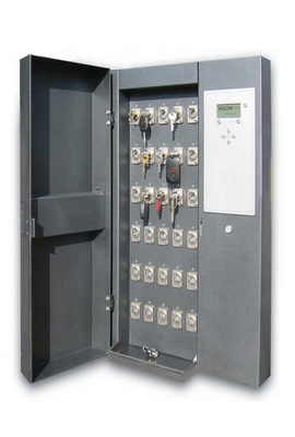 Electronic key management cabinets